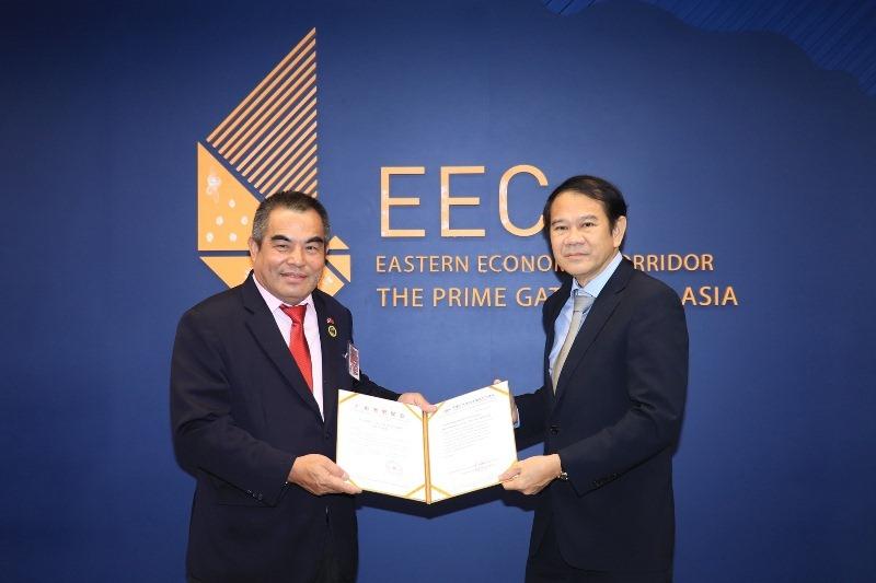 หอการค้าไทย-กวางตุ้ง หารือ สกพอ. ยืนยันนำนักธุรกิจจีนกว่าร้อยบริษัทลงทุนพื้นที่ อีอีซี