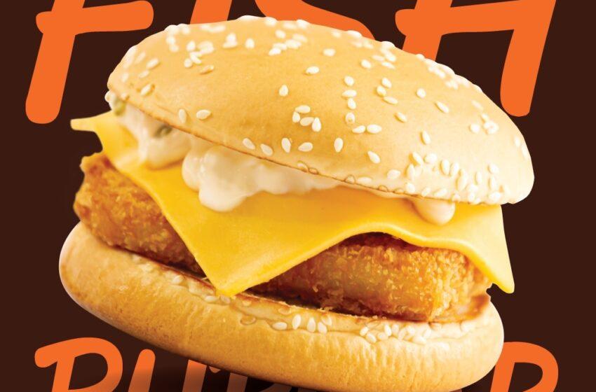 A&W เปิดความอร่อยชิ้นใหม่ Fish Burger! ที่สายเฮลตี้ต้องลอง!!