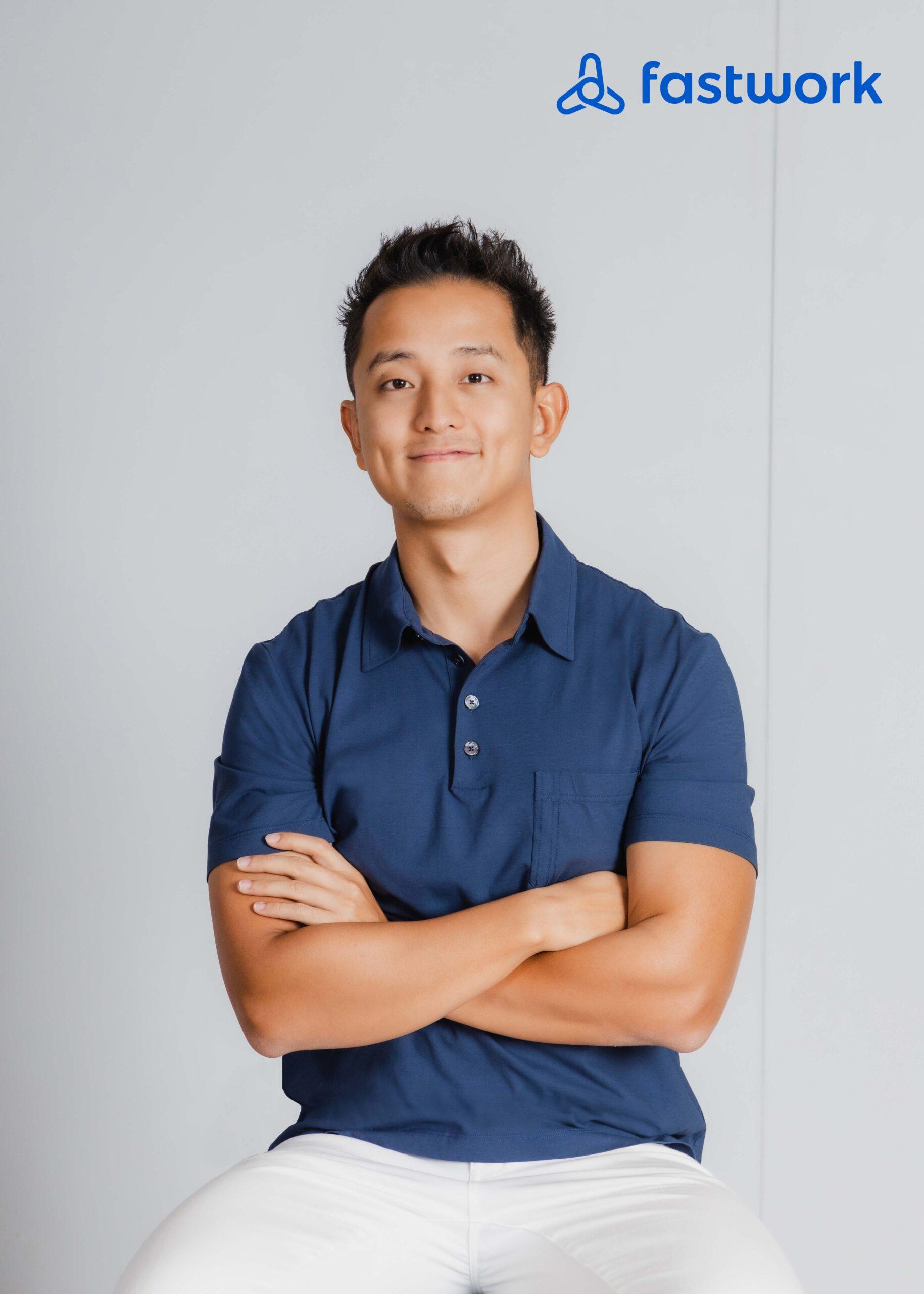 คุณซีเค เจิง (CK Cheong) หนึ่งในผู้บริหารชุดใหม่ของ Fastwork Technologies
