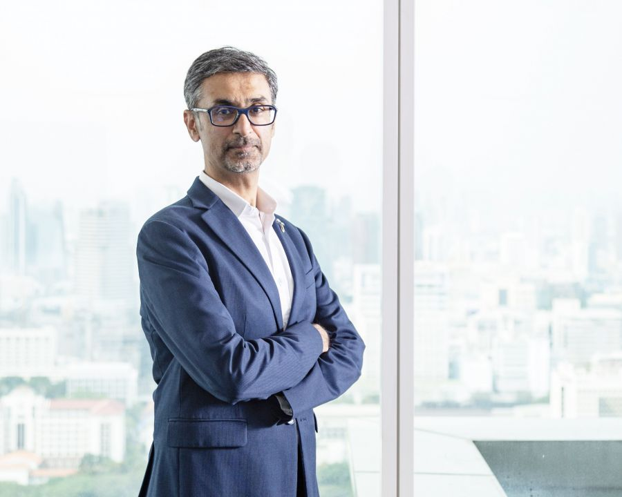 ราจีฟบาวารองประธานเจ้าหน้าที่บริหาร กลุ่มธุรกิจองค์กรและธุรกิจขนาดกลางและขนาดเล็ก บริษัท โทเทิ่ล แอ็คเซ็ส คอมมูนิเคชั่น จำกัด (มหาชน) หรือดีแทค