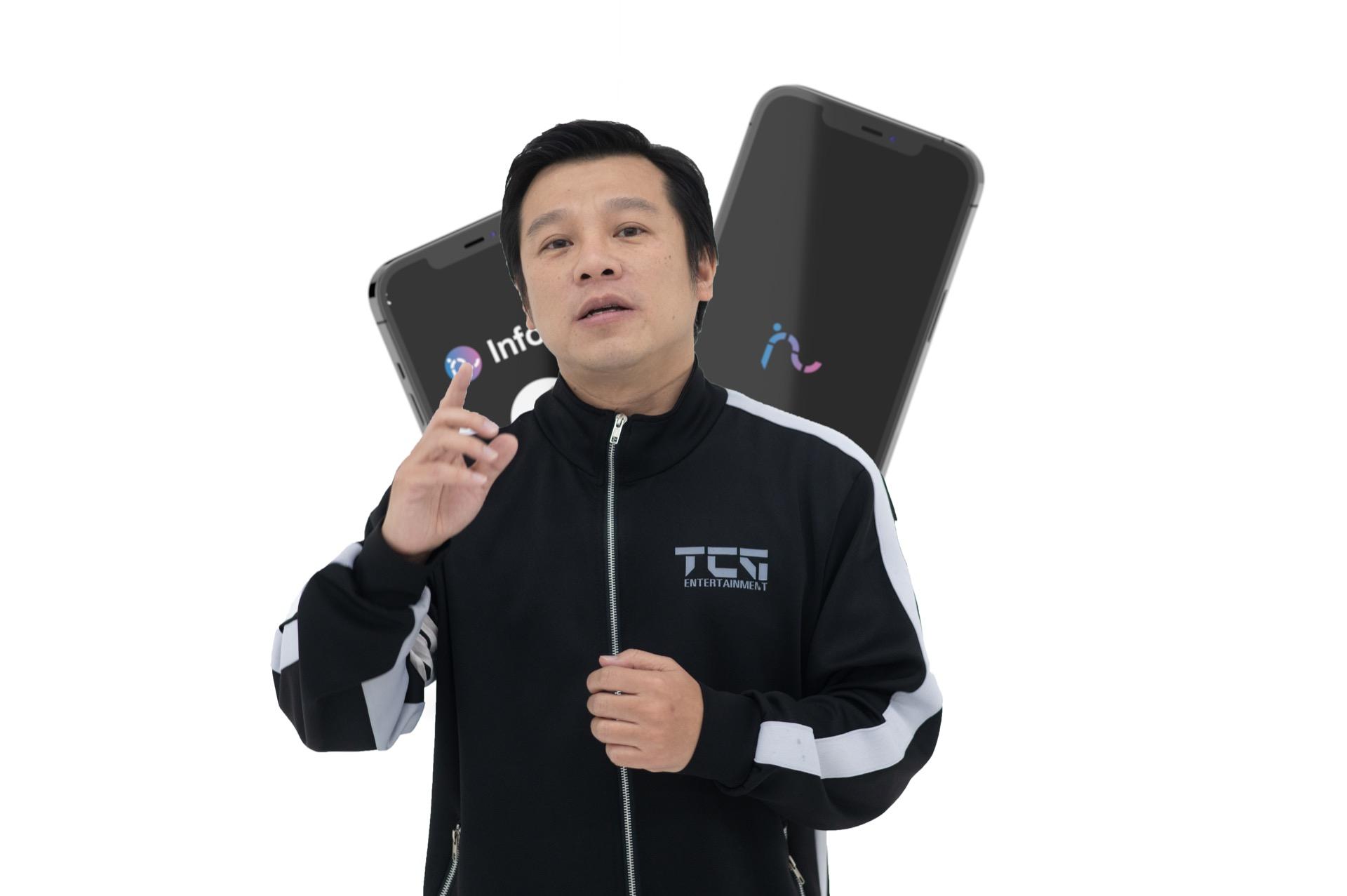 นายพัศพงศ์ เจริญฐานวงศ์ หรือ JT.Wong Founder & CEO ประธาน บริษัท ทีซีจี โซเชียลมีเดีย กรุ๊ป จำกัด