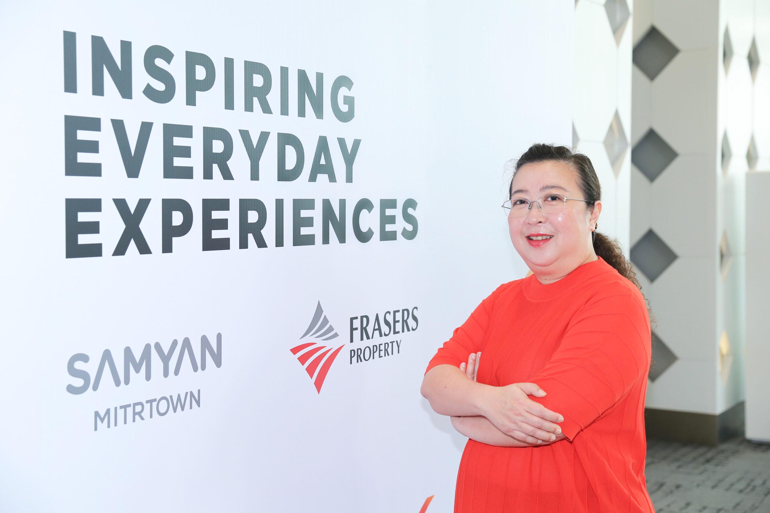 นางธีรนันท์ กรศรีทิพา รองกรรมการผู้จัดการ สายงานพัฒนาธุรกิจรีเทล เฟรเซอร์ส พร็อพเพอร์ตี้ คอมเมอร์เชียล(ประเทศไทย)